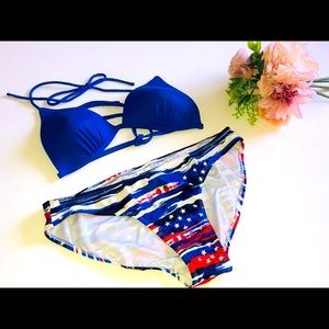 OP PATRIOTIC STRING BIKINI Fourth of July Bikini